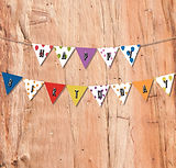 Free Printable Balloon Themed Bunting | Free Party Printables