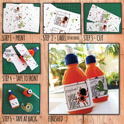 HOW TO BOTTLE LABEL