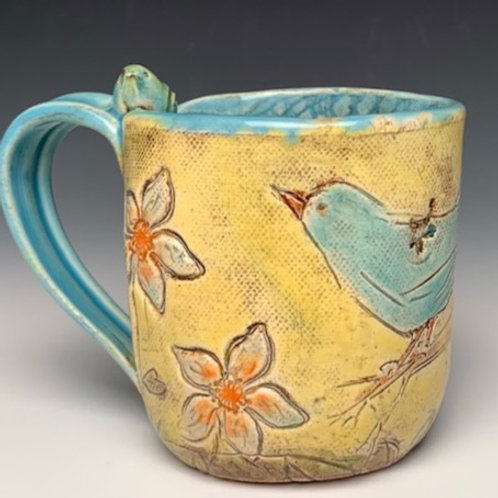 SBP BLUE BIRD MUG