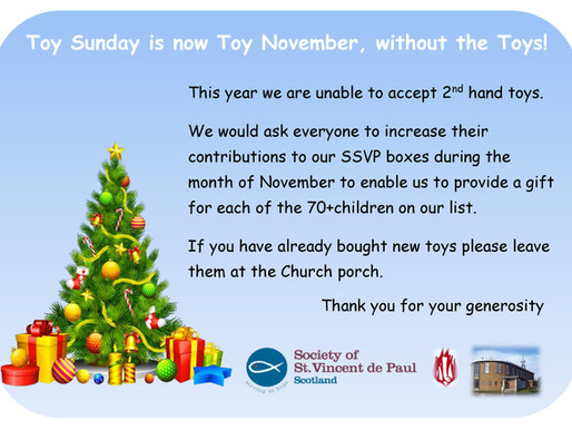 SVDP Toy Appeal