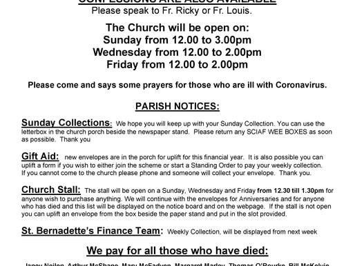 Parish Notices