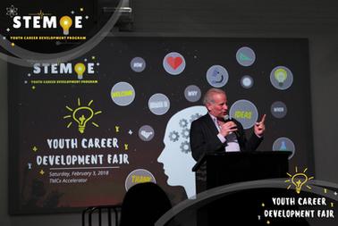 2018 Inaugural Youth Career Development Fair- STEM·E Youth Career Development Program