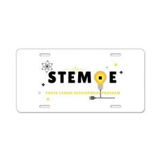 STEM·E Youth Career Development Program License Plate