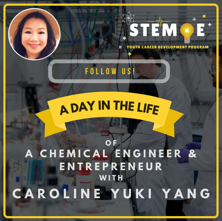 2/17/2021 - Day in the Life of a Chemical Engineer & Entrepreneur