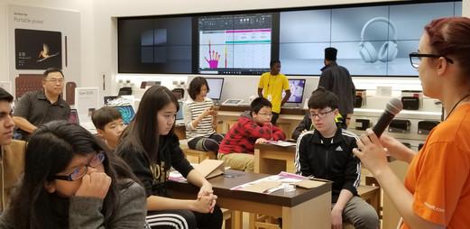 STEM·E Talks: Coding with Microsoft- STEM·E Youth Career Development Program