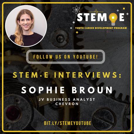 STEME Interviews Sophie Broun
