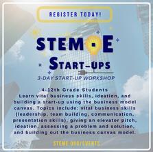 STEM·E Start-Ups: 3-Day Start-Up Workshop