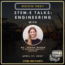 STEM·E Talks: Engineering
