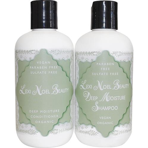 Wegański szampon i odżywka