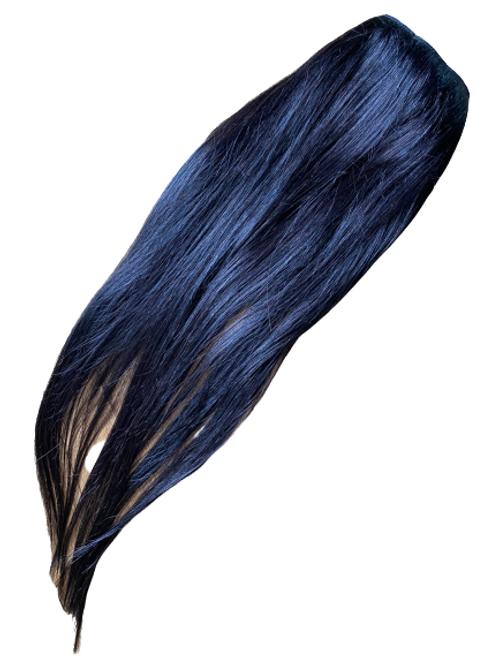 Flip-in z włosów prostych 60 cm