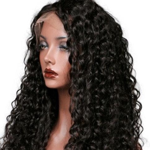Peruka Full Lace z włosów bardzo kręconych 65 cm