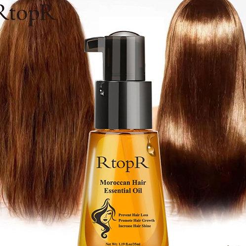 Marokański olejek do odbudowy zniszczonych włosów