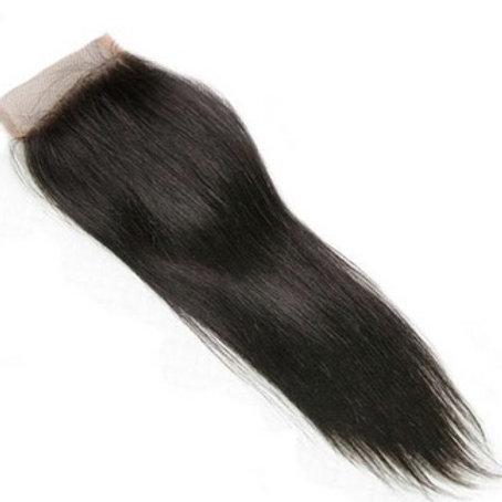 Lace Frontal z włosów prostych 45 cm