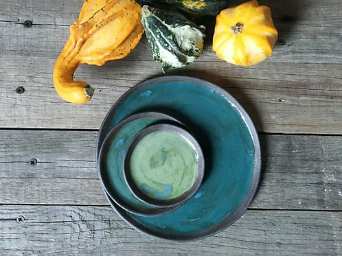 Green, il posto tavola - 3 pezzi