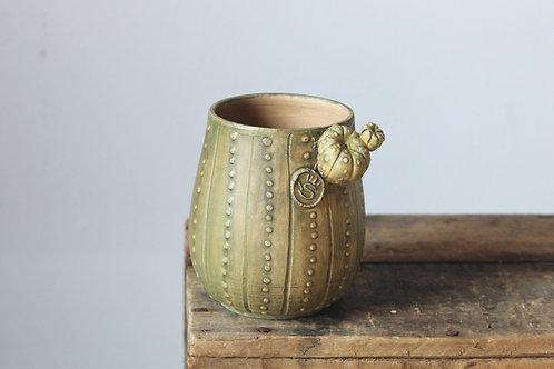 Tazza da tè del cactus - una tazza in gres