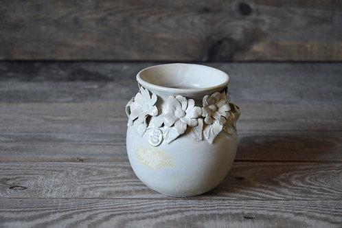 Vaso margherite in gres