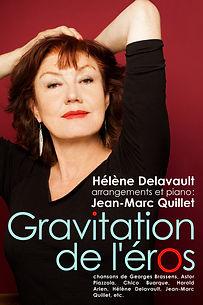 Hélène Delavault - Gravitation de l'éros