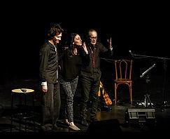 Grégory Veux, Claire Elzière, Dominique Cravic - photo Olivier Coiffard - tous droits réservés