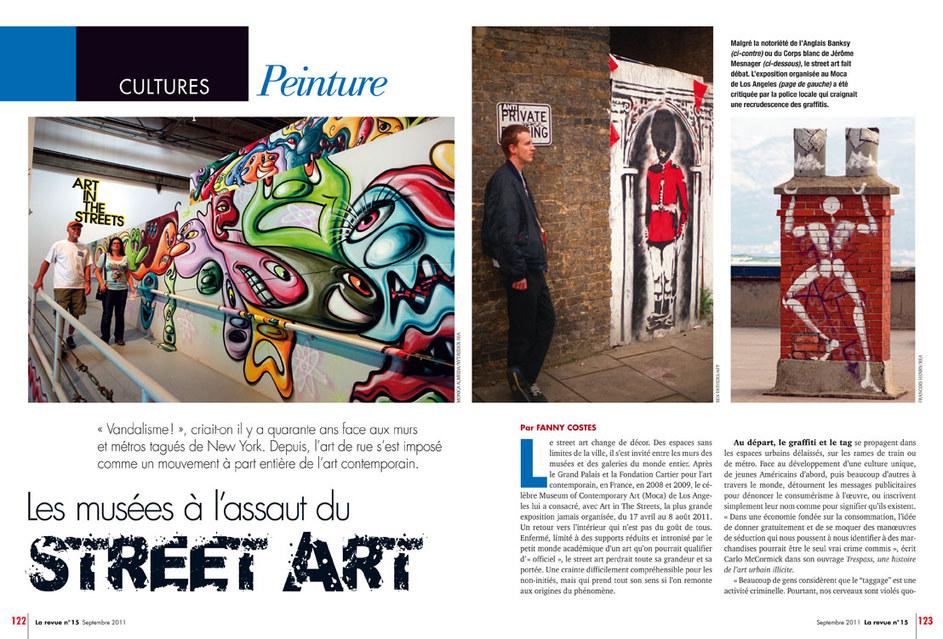 """La Revue. Rubrique """"Culture"""""""
