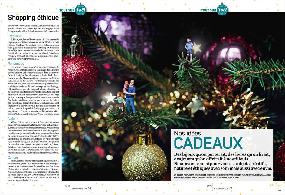 """La Vie La Vie """"Ouverture des cadeaux de noël en 2013"""""""