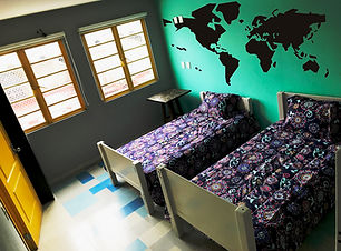 Private room, linen and towels inluded, private bathroom, celling fans, lockers, electronc door lock at Hostal Nacional