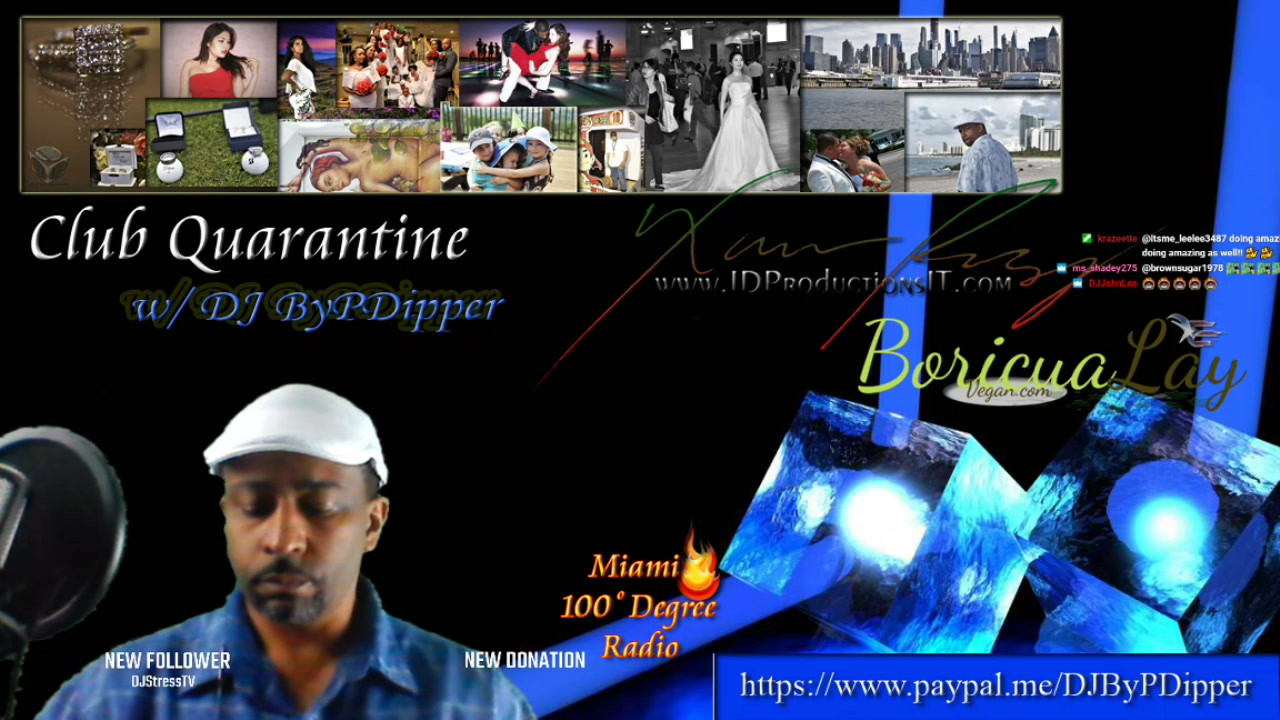 DJ ByPDipper Live (Miami100DegreeRadio) Top40's Fundraiser 12-1-20