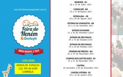 CALENDÁRIO 2021 - Feira do Neném & Gestante
