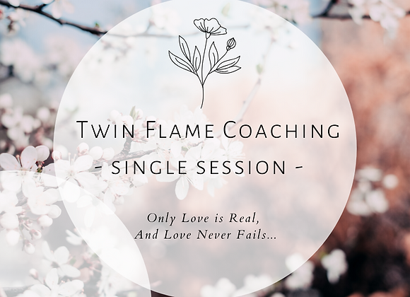 Twin Flame Coaching Session