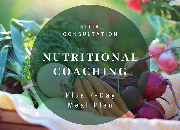 Nutritional Coaching Initial Consultation