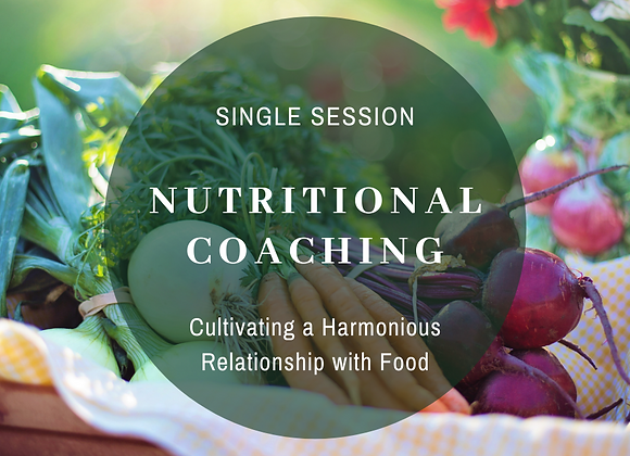 Nutritional Coaching Session