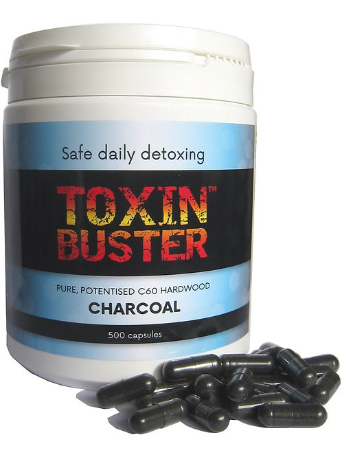 Toxin Buster C60 Charcoal capsules
