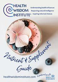 Health wisdom supplement wisdom guide