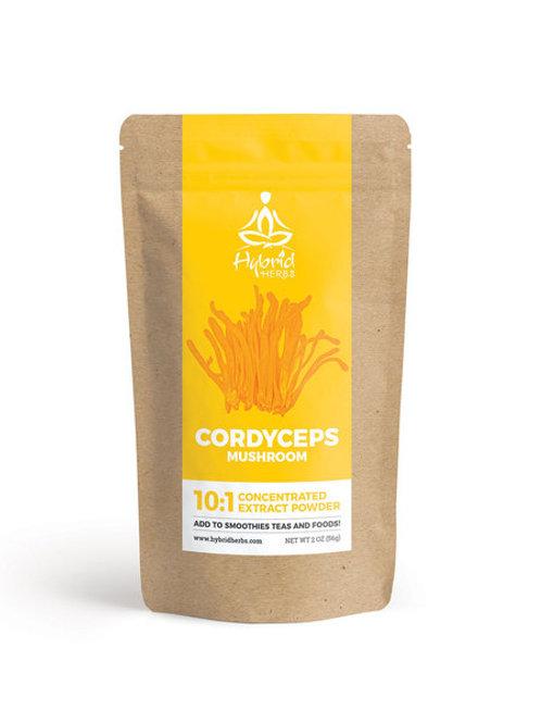 Cordyceps mushroom 10:1 extract powder