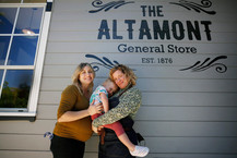 Wife team LGBTQ owners of the Altamont General Store