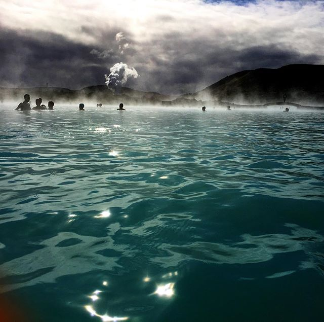 First stop Blue Lagoon! #icelandyogaretreat #elementaladventureyogaretreat #thelotusfeed #adventurew