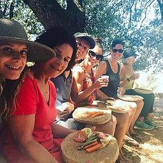 Hungry hikers, cork plate ready! #iamatr