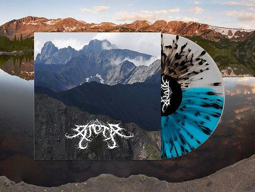 """Arête """"Hymnal"""" Clear/Blue Split with Black Splatter"""