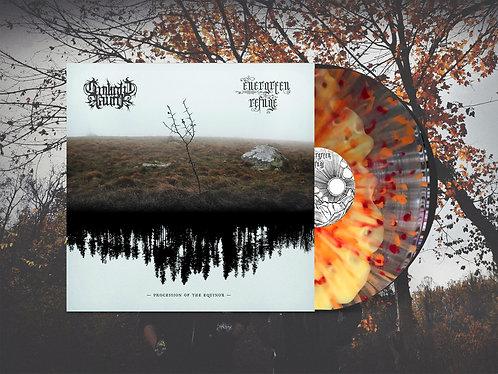 "Twilight Fauna / Evergreen Refuge ""Procession of the Equinox"" Split 12"" Sunrise"