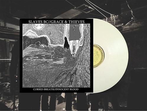 "Slaves BC / Grace & Thieves Split 12"" White Vinyl"