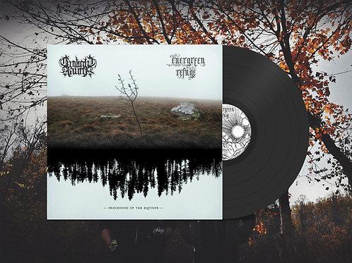 "Twilight Fauna / Evergreen Refuge ""Procession of the Equinox"" Midnight Black"