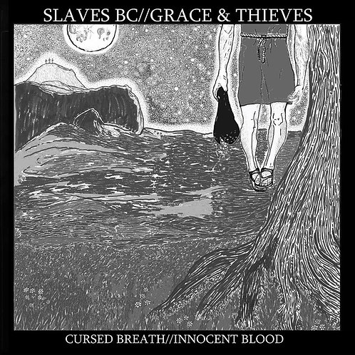 "Slaves BC / Grace & Thieves Split 12"" Purple Vinyl"