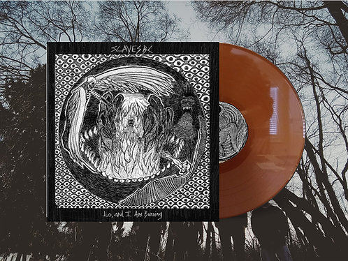 "Slaves BC ""Lo, and I Am Burning"" 180g Brown Vinyl"