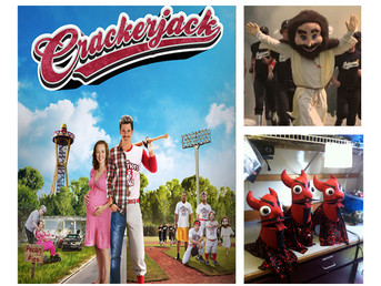 Crackerjack- Mascot and puppets