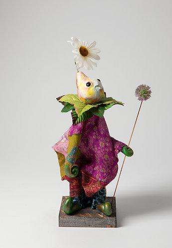 Franny Bright - Little Rainbow Patchwork Tunic Puppet