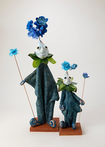 Sunny Quill and Briar Woodsprig - Tunic Puppet Set