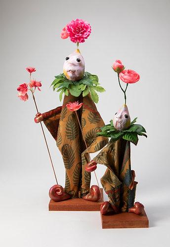 Franny Bright and Sneezewart - Tunic Puppet Set