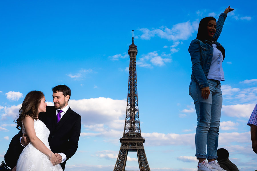 Eiffel - Paris - trash the dress - Andorra - fotografs - wedding