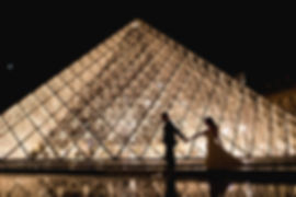 louvre - trash the dress - photographes de mariage - Andorra - fotografs - bodas