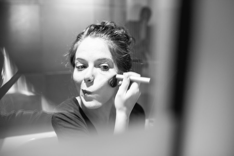 make up time - wedding - bride - postboda - Barcelona - Paris