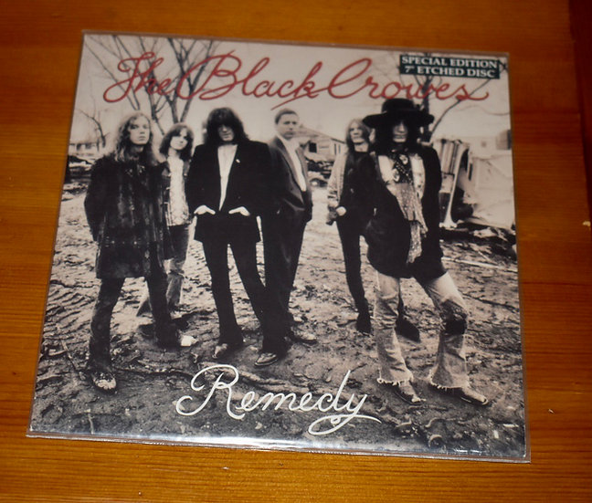 """The Black Crowes 'Remedy' 45"""""""